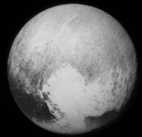First image of Pluto received July 14 2015.